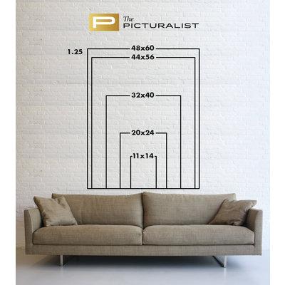 Framed Print on Rag Paper: On Key by Francesco Alessandrini