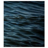 Facemount Acrylic: Santorini Blue (Right)