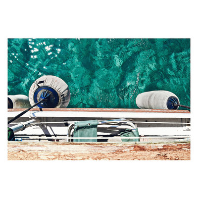 Framed Print on Rag Paper: Clearwaters by S. Sollman