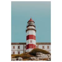 Framed Print on Rag Paper: Lighthouse