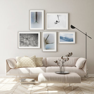 Framed Print on Rag Paper: Swing by Enric Gener