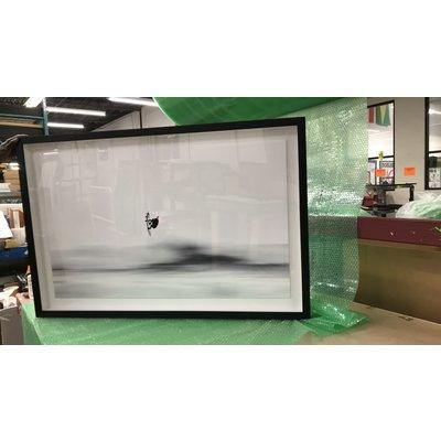 Framed Print on Rag Paper: Up High by Enric Gener