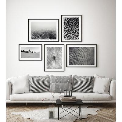 Framed Print on Rag Paper: Seabed by Enric Gener