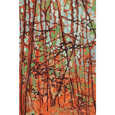 Original Art - Small Stand Orange by Kim Atlin