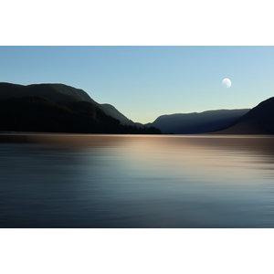 Framed Print on Rag Paper: Still Waters