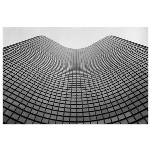 Framed Print on Rag Paper: Lake Point Tower in Chicago