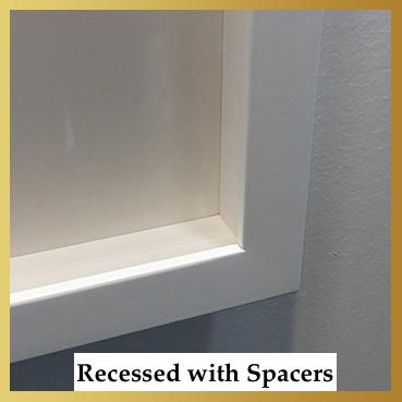 Recessed Frame