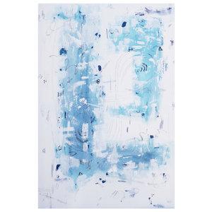 Framed Print on Rag Paper: Blue Escape