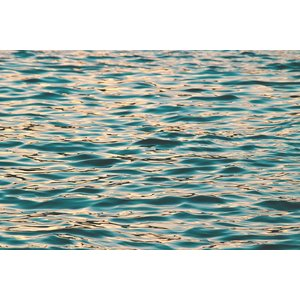 Framed Facemount Acrylic Ocean Deep Blue 1/4 Inch Thick Acrylic Glass