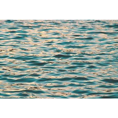 Facemount Acrylic: Ocean Deep Blue 1/4 Inch Thick Acrylic Glass