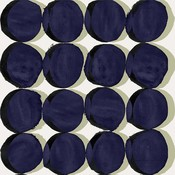 The Picturalist Framed Print on Rag Paper: Blue Circles by Alejandro Franseschini