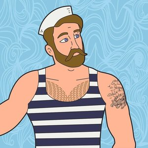 Print on Paper US250 - Blonde Sailor by Alejandro Franseschini