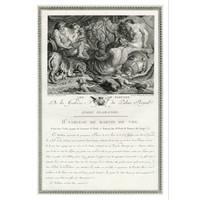 The Picturalist Framed Print on Rag Paper: De la Galerie du Palais Royal