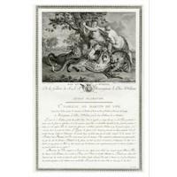 The Picturalist Framed Print on Rag Paper: De la Galerie de Monseigneur Le Duc D'Orleans