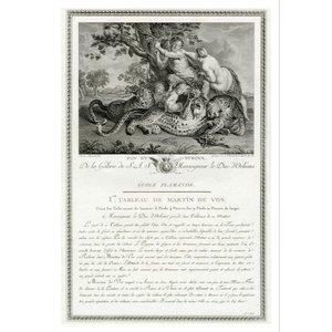 Framed Print on Rag Paper De la Galerie de Monseigneur Le Duc D'Orleans