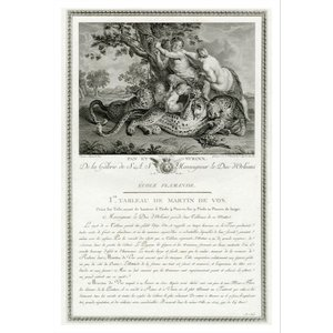The Picturalist Framed Print on Rag Paper: De la Galerie de Monseigneur Le Duc D'Orleans