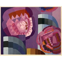 The Picturalist Framed Print on Rag Paper: Geometric Roses