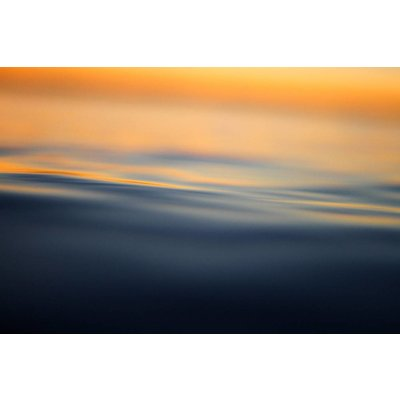 Facemount Acrylic - Dawn at Water 1/4 Inch Thick Acrylic Glass by J. Bishop