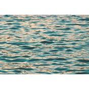 Facemount Metal: Ocean Deep Blue UV Printed on Metal