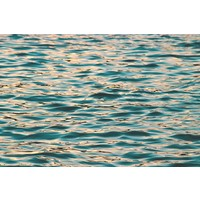 The Picturalist Facemount Metal: Ocean Deep Blue Print on Metal