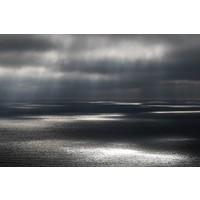 Facemount Metal - Rain on Water UV Printed on Metal
