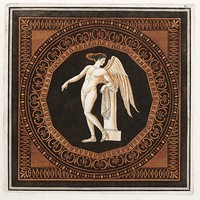Framed Print on Rag Paper: Eros