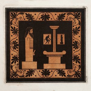 Framed Print on Rag Paper Hermes