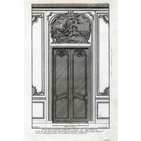Architectural Elevation for Entrance Door