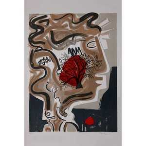 Framed Print on Rag Paper: The Tree of Alexandre