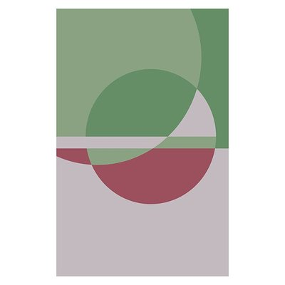 Framed Print on Rag Paper: Untitled 350 by Pedro Nuka