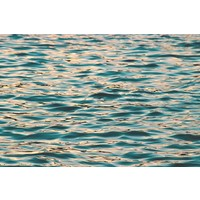 Framed Print on Rag Paper Ocean Deep Blue