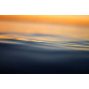 The Picturalist Framed Print on Rag Paper: Peaceful Waves