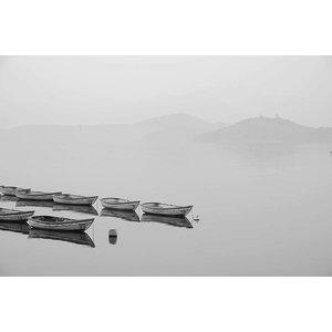 Print on Paper US250 - White Canoe