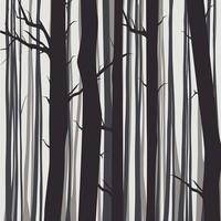 Framed Print on Rag Paper: Trees by Alejandro Franseschini