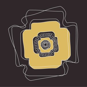 The Picturalist Framed Print on Rag Paper: Modernist Plate Gold 2