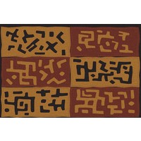 Print on Paper US250 - African Kuba Textiles from Zaire