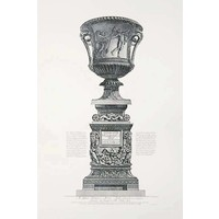 The Picturalist Framed Print on Rag Paper: Piranesi Urn Dedicated to Thomas Moore an English Lord