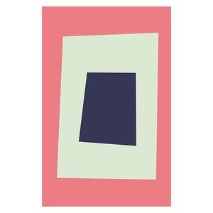 Framed Print on Rag Paper Untitled 3050