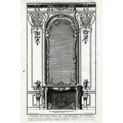 The Picturalist Framed Print on Rag Paper: Architectural Details French Fireplace Mantel 2