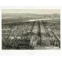 The Picturalist Framed Print on Rag Paper: Paris - The Botanical Garden