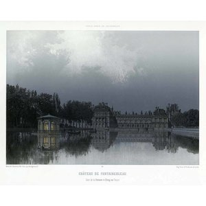 Print on Paper US250 - Paris in it's Splendour The Fontainebleau Palace