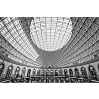 The Picturalist Framed Print on Rag Paper: Round Classic Perspective