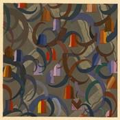 Framed Print on Rag Paper: Geometric Bells by Edouard Benedictus