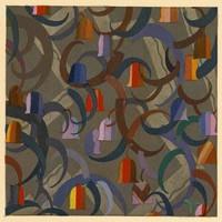 Framed Print on Rag Paper: Geometric Bells