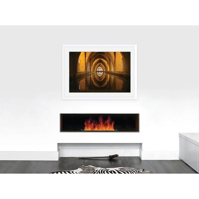 The Picturalist Framed Facemount Acrylic: Underground Thermal Baths in Seville, Spain