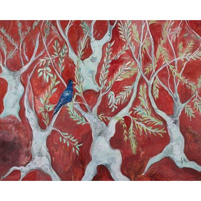 """The Picturalist Framed Print on Rag Paper: """"Red Symphony"""" by Ljubica Hajduka"""