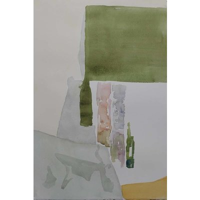 Framed Print on Rag Paper: Divan by Encarnacion Portal Rubio
