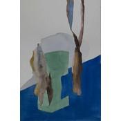 Framed Print on Rag Paper: Kruste by Encarnacion Portal Rubio