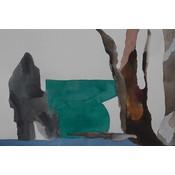 Framed Print on Rag Paper: Leder by Encarnacion Portal Rubio