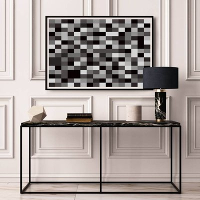 Framed Print on Rag Paper: Untitled 3250 by Pedro Nuka